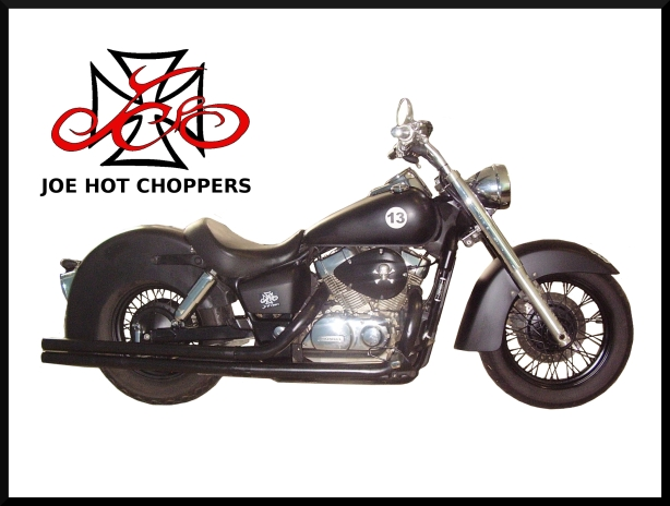 Honda Shadow 750. - JOE HOT CHOPPERS.